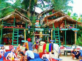 Tantra Beach Shack And Huts Anjuna India