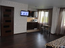 A picture of the hotel: Studio on Naberezhnaya Pobedy 130