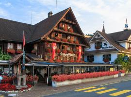 Swiss-Chalet Lodge Merlischachen Switzerland