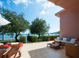 Hotel photo: Corfu Beachfront Villa