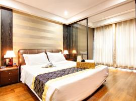 Hotel Photo: Tujia Sweetome Golden Beach Wanli International Apartment