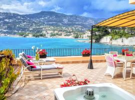 Hotel Photo: Cap Ferrat Luxury Terrace Sea Front