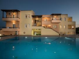 Mythos Beach Hotel Apartments Maleme Greece