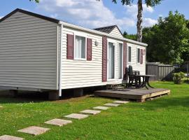 Holiday Home Luxe Mobile Chalet 6 pers..1 Erpigny Belgium