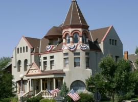 Nagle Warren Mansion B&B Cheyenne ABD