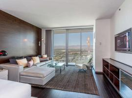 A picture of the hotel: Palms place 51st floor with balcony & strip view
