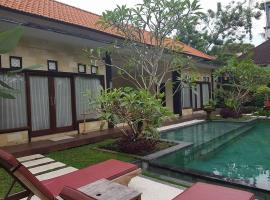 Rice Paddy Field Villa Ubud Indonesia