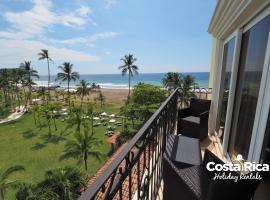 Beachfront views Condo - A406 Jacó 코스타리카