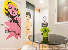 A picture of the hotel: Pop-art apartment