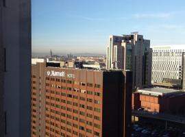 Hotel photo: Glasgow Central Skyline Apart'
