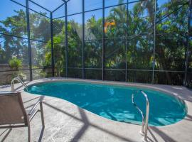 Vacation Pool Home by the Beach Naples ASV