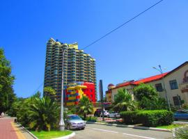 Apartments near Circus with the sea view Sochi Russia