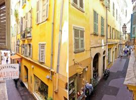 Room in apartment - Rue Droite Nice France