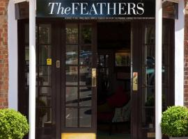 Hotel near Kidlington airport : The Feathers