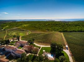 Relais & Chateaux Wine Hotel and Restaurant Meneghetti Bale Хорватія