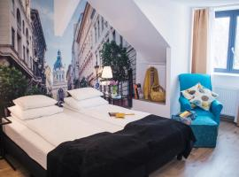 A picture of the hotel: Fifteen Boutique Rooms Budapest