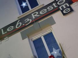 Le 6.3 Resto Home B&B Port-en-Bessin-Huppain France