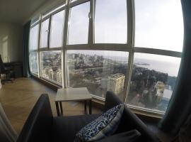 Sea View Apartment on the 24 Floor Sochi Russia