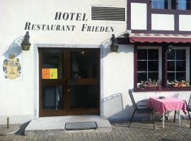 Hotel Photo: Hotel - Restaurant Frieden