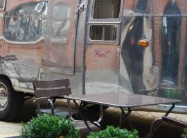 Hotel Vintage Airstream Brussel Belgia