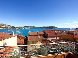 Hotel Photo: Old town, Sea view, Terrace - VILLEFRANCHE