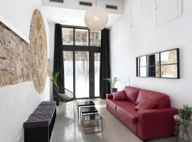 ApartEasy - Eixample LOFT - 3 Open Bedrooms,