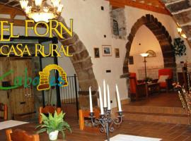 Hotel Photo: Casa Rural Forn del Sitjar