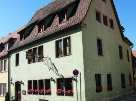 Pension Hofmann-Schmölzer Rothenburg ob der Tauber Germany
