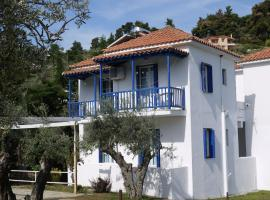 Crystal Rooms Skopelos Town Greece