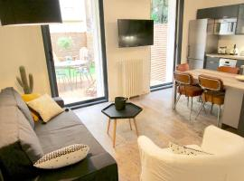 A picture of the hotel: Bel appartement avec jardin hyper centre Nice