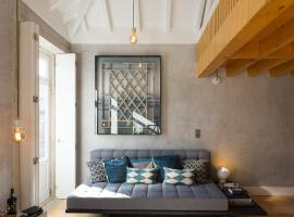 Hotel photo: Gold & Grey Loft Almada