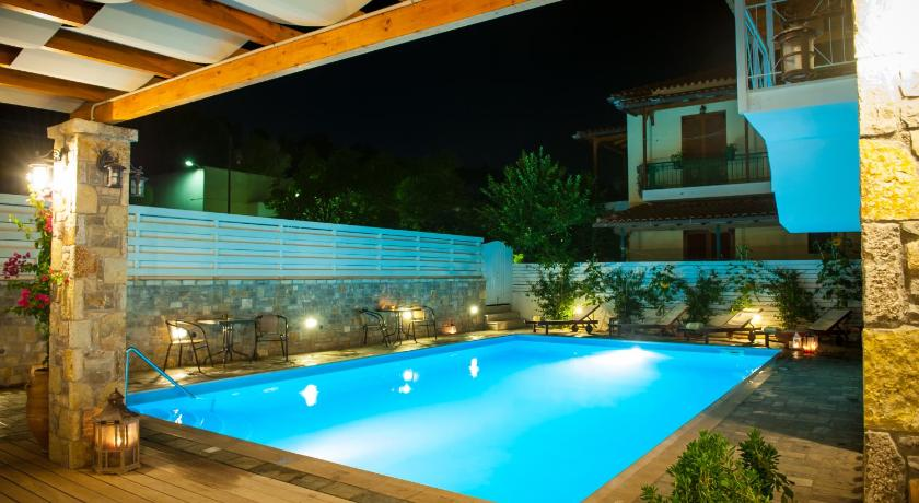 Best time to travel Olympic Riviera Neda Hotel