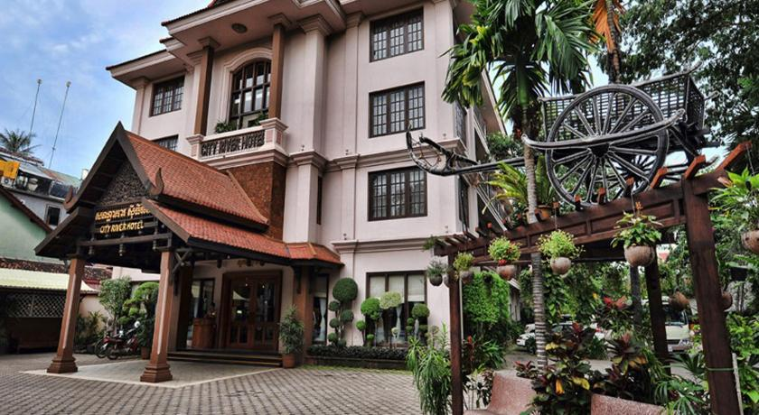 Best time to travel Angkor City River Hotel