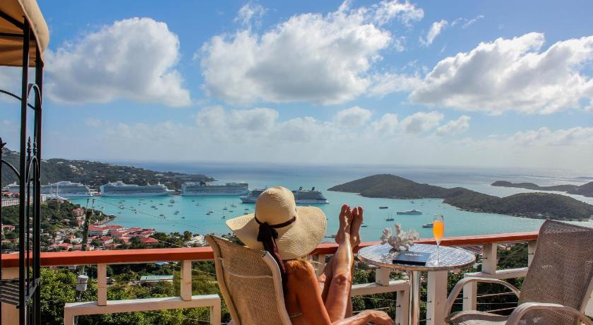 Best time to travel Charlotte Amalie The Mafolie Hotel