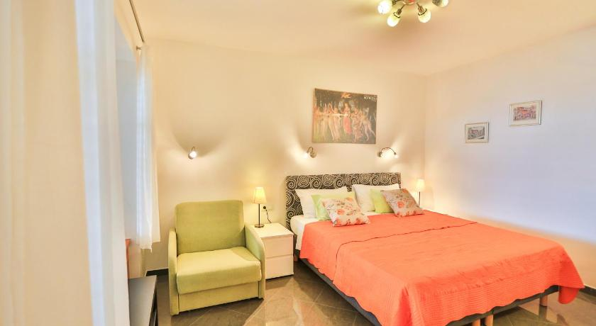 Studio with Terrace and Sea View - Guestroom Villa Leoni