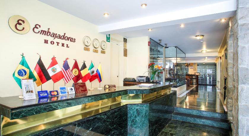 Best time to travel Peru Embajadores Hotel