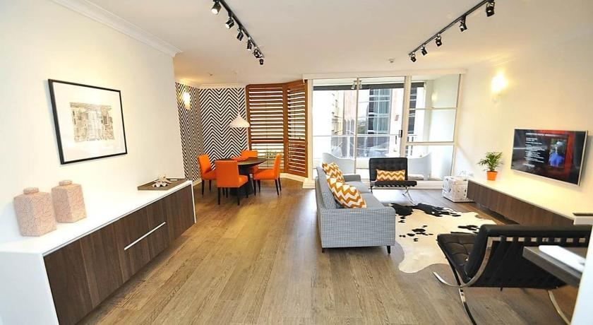 Sydney CBD Modern Self Contained Three Bedroom Apartment 41 YRK 41 57 Yor