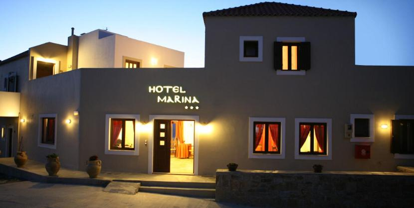 Best time to travel Crete Hotel Marina