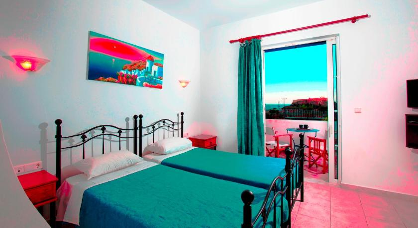 Best time to travel Greece 'Lindian Myth' Sea View Studios