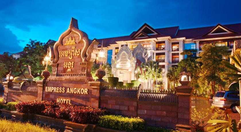 Best time to travel Siem Reap Empress Angkor Resort and Spa