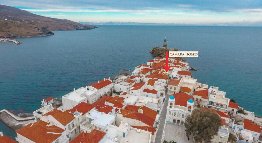 Best time to travel Andros Camara Homes