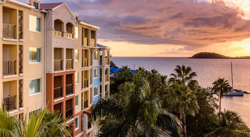 Best time to travel Charlotte Amalie Marriott's Frenchman's Cove