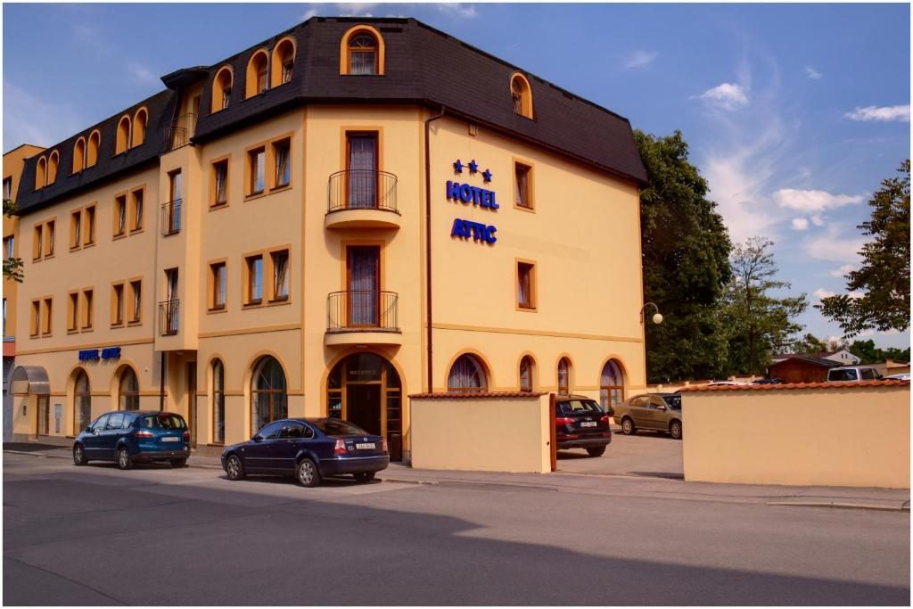 attic hotel praha 4 book your hotel with viamichelin