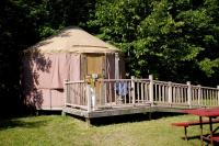 Tranquil Timbers Yurt 4, Holiday parks - Sturgeon Bay