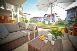 Sunny Terrace  Luxury Apartment in Neptun Park Gdańsk