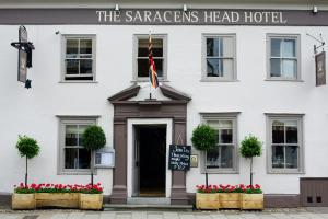 The Saracens Head Hotel in Great Dunmow, Essex, England
