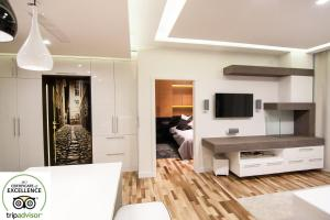 Top floor luxury apartment, Appartamenti  Cracovia - big - 24
