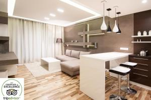 Top floor luxury apartment, Appartamenti  Cracovia - big - 28