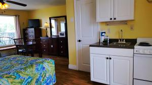 Deluxe Double Room with Kitchenette - Poolside