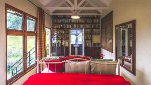 Double Room with Kitchenette - Library